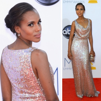 Kerry Washington Emmy's Hair