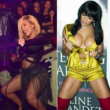 K. Michelle Joseline Hernandez Bring Enough Booty Cleavage To PARTY In ATL