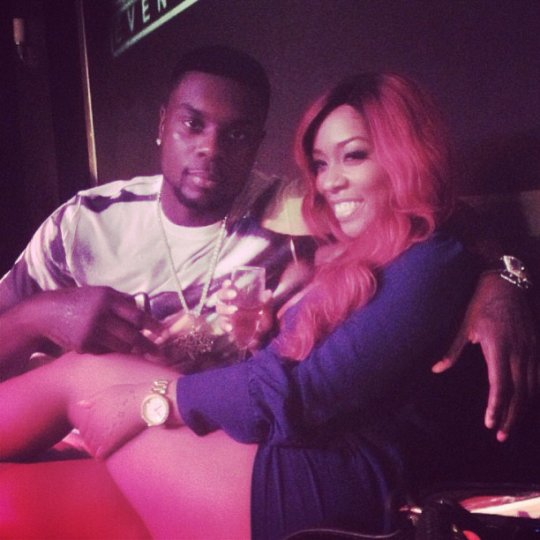 K Michelle And Lance Stephenson K Michelle is