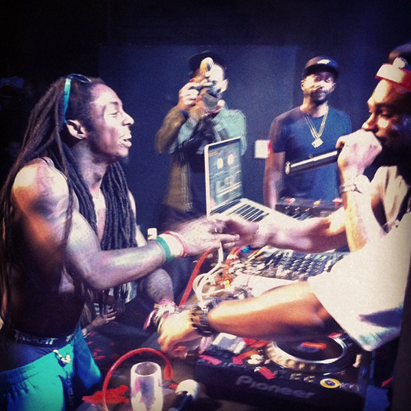 Dr Dre And Drake Party It Up With Lil Wayne For