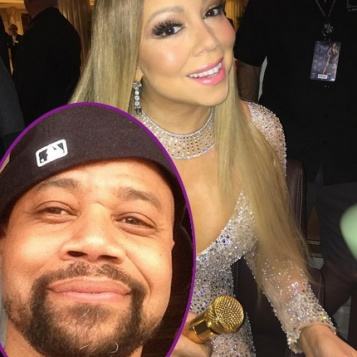 IN CASE YOU MISSED IT: Mariah Shades Jennifer Lopez AGAIN + Cuba Gooding Jr. Is Feelin' Himself (And Everybody Else) In The Club