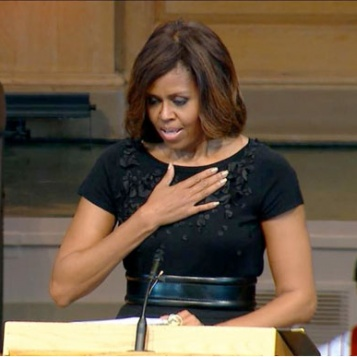 IN CASE YOU MISSED IT: Michelle Obama DELIVERS Rousing Speech At Dr. Maya Angelou's Memorial Service EVERY Woman Should Hear
