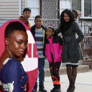 """Nicki"" Cast Shoots In Queens With An ""OITNB"" Guest Star + Danai Gurira Will Play Tupac's Mother Afeni Shakur"