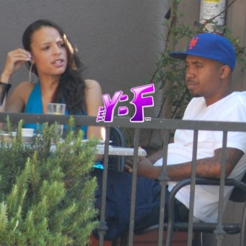 NEW COUPLE ALERT?: Nas & Antonique Smith (Faith Evans In ...