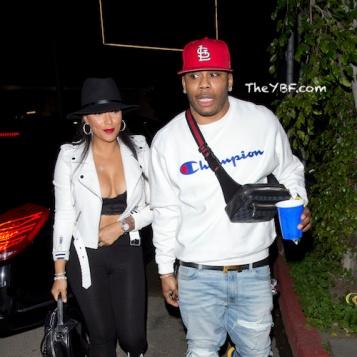 Nelly & Girlfriend Shantel Jackson Kick It In LA Amid ...