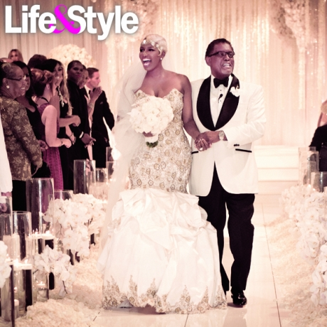 first ceremony pics inside nene leakes lavish 18
