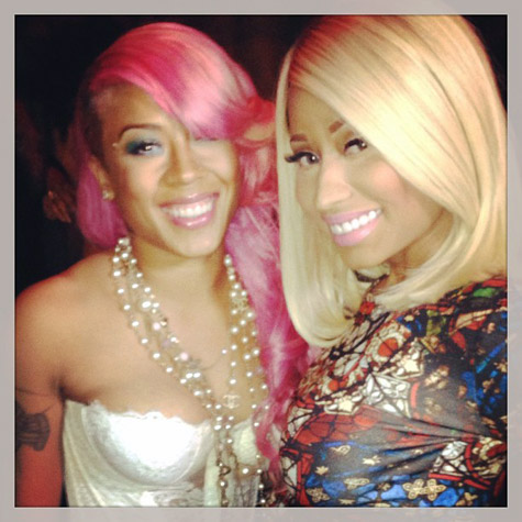 Party Fab Nicki Minaj Rocks Alexander Mcqueen Parties