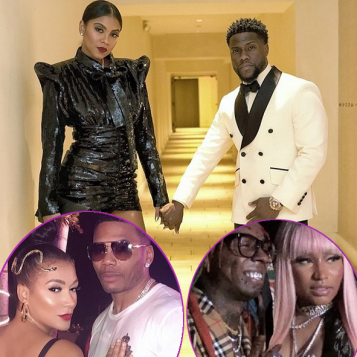 LIGHTS, CAMERAS, ACTION! Celebs Ring In 2019 With New Whips, Champagne Toasts Midnight Smooches