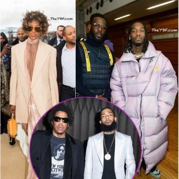 PARIS TAKEOVER! Offset Rips The Runway, Kofi Siriboe's Model Flex Naomi Kills It At PFW + Jay Z, Snoop Dogg TI Party With Nipsey Hussle In LA