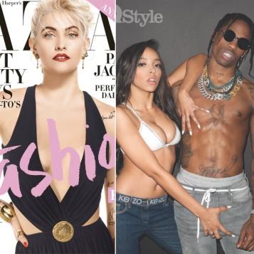 49952b7d8450 Paris Jackson Serves Up Madonna-Esque Vibes In Harper's Bazaar + Tinashe  Clutches Travis Scott's Man Parts For British GQ Style | GumBumper