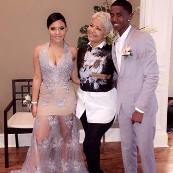 Misa Hylton's Daughter Madison Takes Christian Combs To Prom