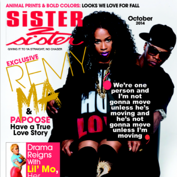 """FIRST LOOK: Remy Ma Papoose Cover """"Sister 2 Sister"""" + Remy SPEAKS On Papoose's Loyalty And What Happened The Day She Got Convicted!"""