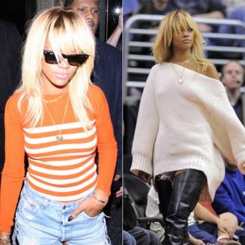 Do We Love It Rihanna S Bleached Blonde Shag The Young