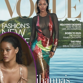 Rihanna Serves Mermaid Realness For April 2016 VOGUE - She s Not Here For  Love 1a913ac34