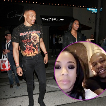 Keyshia Cole Hangs Out With Floyd Mayweather + Russell Westbrook Wife Nina Dine In Hollywood +Drake Attends Ayesha Curry's Pop Up Restaurant + Did Waka Tammy Break Up? +