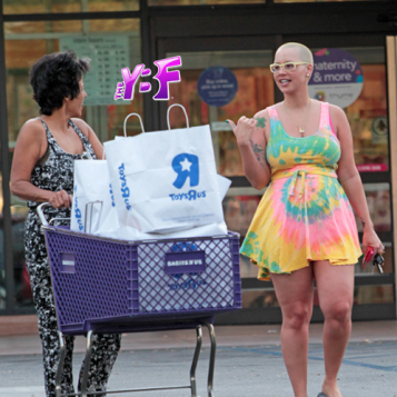 SHOPPING SPREE! Amber Rose's FIRST Post-Baby Outing | The Young ...