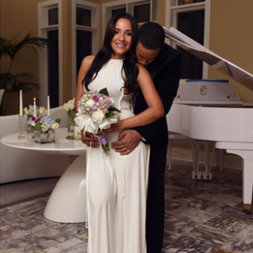 J Cole And Melissa Heholt JUST MARRIED: Ludacris...