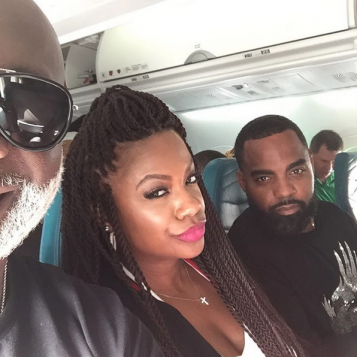 """be86e628a53 Kandi Burruss Tucker and Todd Tucker are going to be tardy for the party in  Hawaii with the rest of the """"Real Housewives of Atlanta"""" cast."""