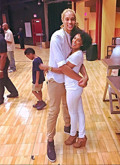 MOVING ON: Phoenix Mercury Star Brittney Griner REBOUNDS From Failed Marriage With a New Girlfriend...Lola!