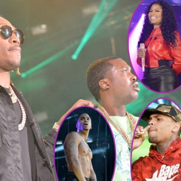 SUMMER JAM 2015: Chris Brown, Nicki Minaj, Meek Mill, Trey ... Meek Mill And Teyana Taylor