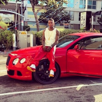 SOULJA BOY's BENTLEY IMPOUNDED? (article from YBF)