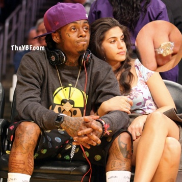 Spotted Lil Wayne Amp Girlfriend Dhea Get Cutesy At The