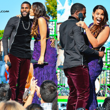 Merry Christmas Baby Jordin Sparks And Jason Derulo Get