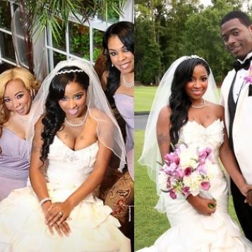 MORE WEDDING FAB Toya Memphitz Wrights Wedding Pics Video
