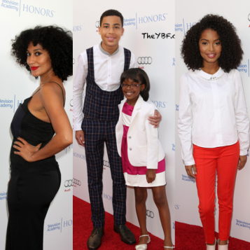 tracee ellis ross the kids from blackish attend the 8th annual television academy honors. Black Bedroom Furniture Sets. Home Design Ideas