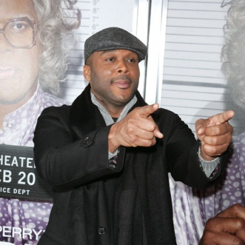Young Tyler Perry 42nd birthday tyler perry!