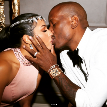 58f956aa4ea6c Tyrese & Wife Samantha Cop Matching Tattoos To Profess .
