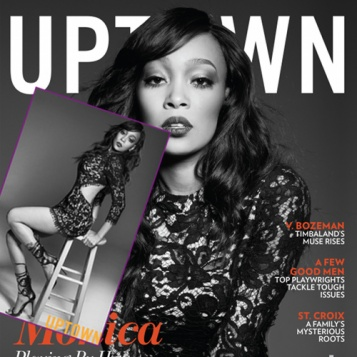 Monica Serves Fire Fashion For UPTOWN Magazine, Talks Being Karl Lagerfeld's Pre-Instagram Muse