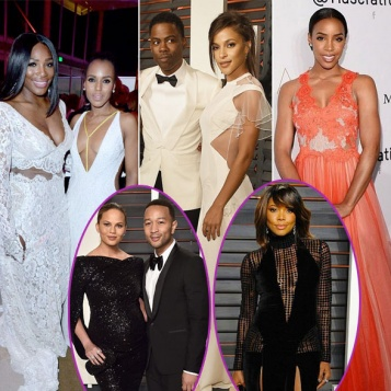 2016 OSCAR AFTERPARTIES: Serena Williams, Kerry Washington, Chris Rock Girlfriend, John Chrissy, Kelly Rowland, Gabrielle Union More