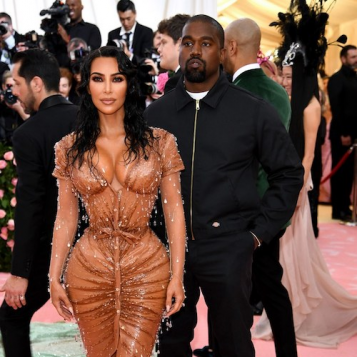 Kanye West Looked Totally Over The Met Gala Until J.Lo Pulled Up On The Carpet